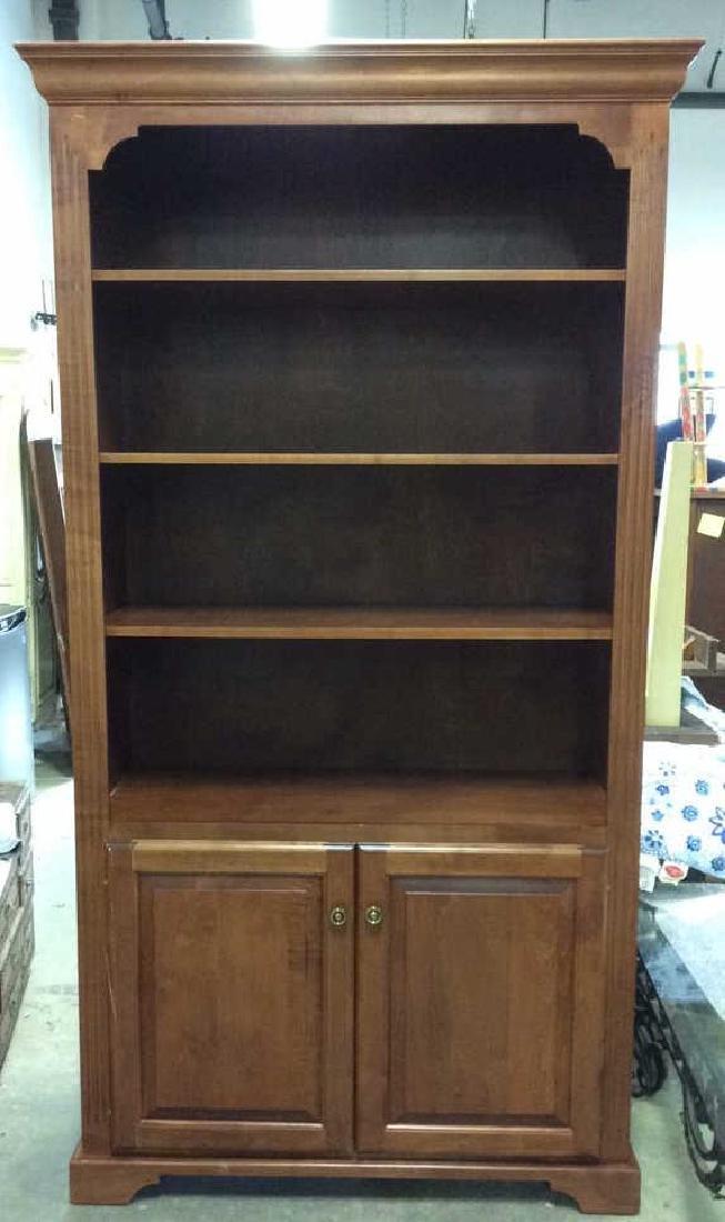 WOODCRAFT INDUSTRIES INC. Wooden Shelf w Cabinet - 3