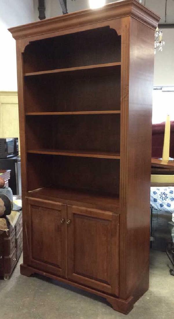 WOODCRAFT INDUSTRIES INC. Wooden Shelf w Cabinet - 4
