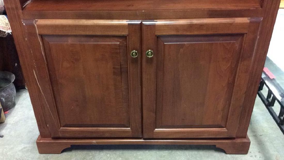 WOODCRAFT INDUSTRIES INC. Wooden Shelf w Cabinet - 8