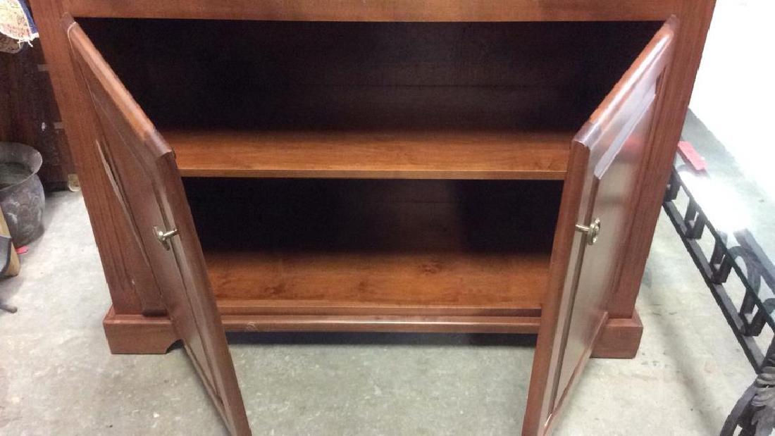 WOODCRAFT INDUSTRIES INC. Wooden Shelf w Cabinet - 9