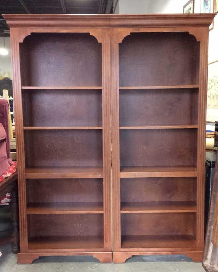 Pair WOODCRAFT INDUSTRIES INC Bookshelf Unit