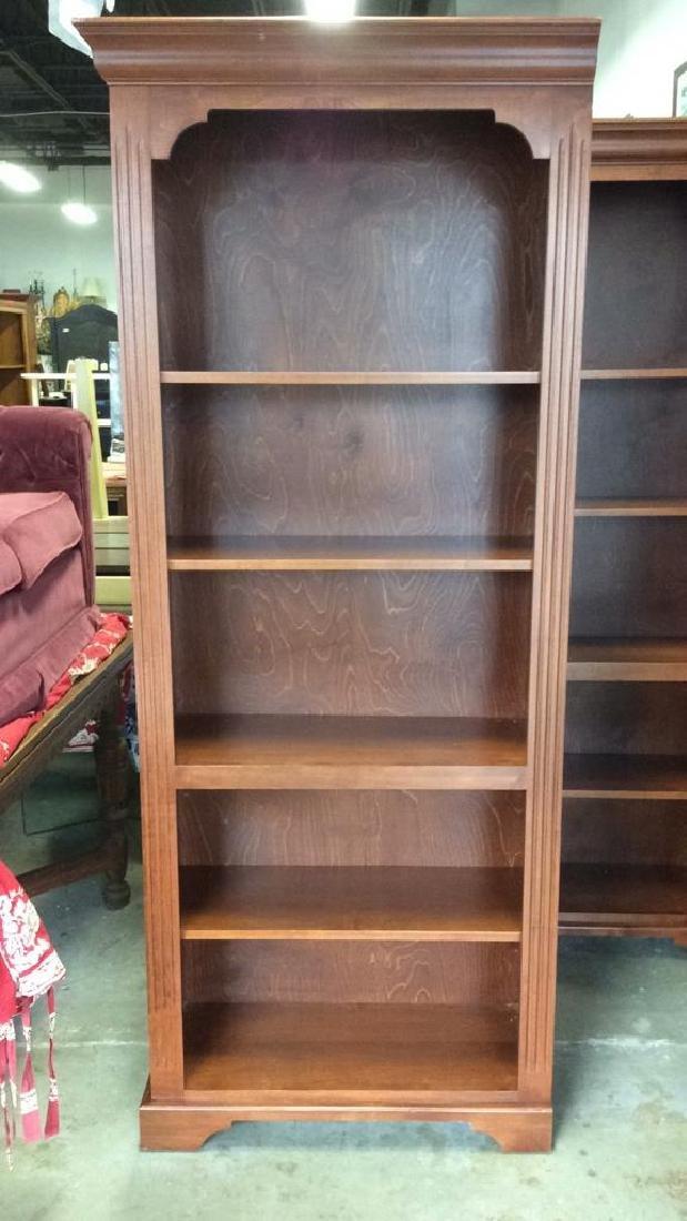 Pair WOODCRAFT INDUSTRIES INC Bookshelf Unit - 4