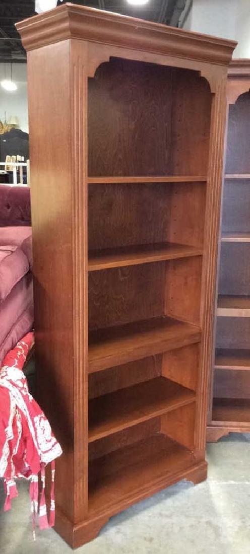 Pair WOODCRAFT INDUSTRIES INC Bookshelf Unit - 5