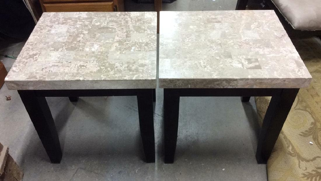 Pair STEVE SILVER CO Side Tables