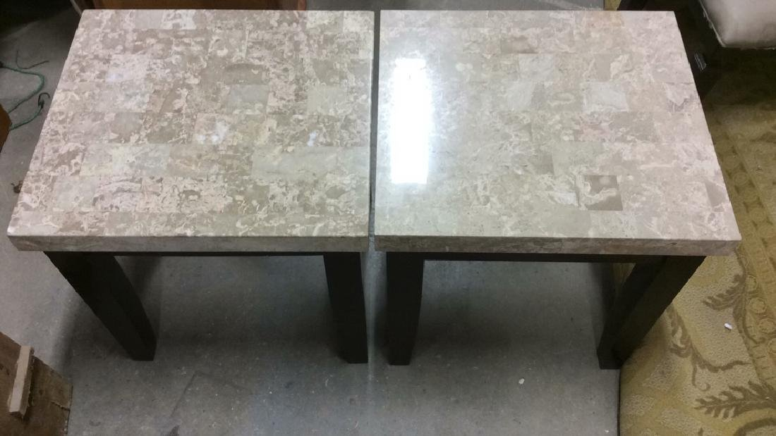 Pair STEVE SILVER CO Side Tables - 2
