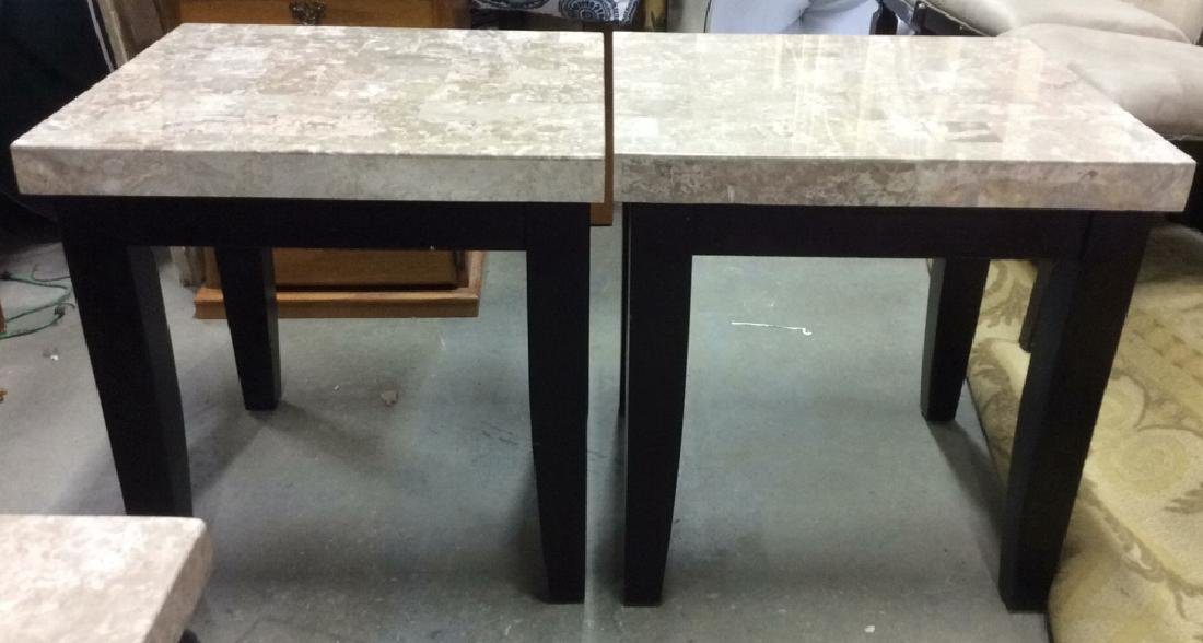 Pair STEVE SILVER CO Side Tables - 3