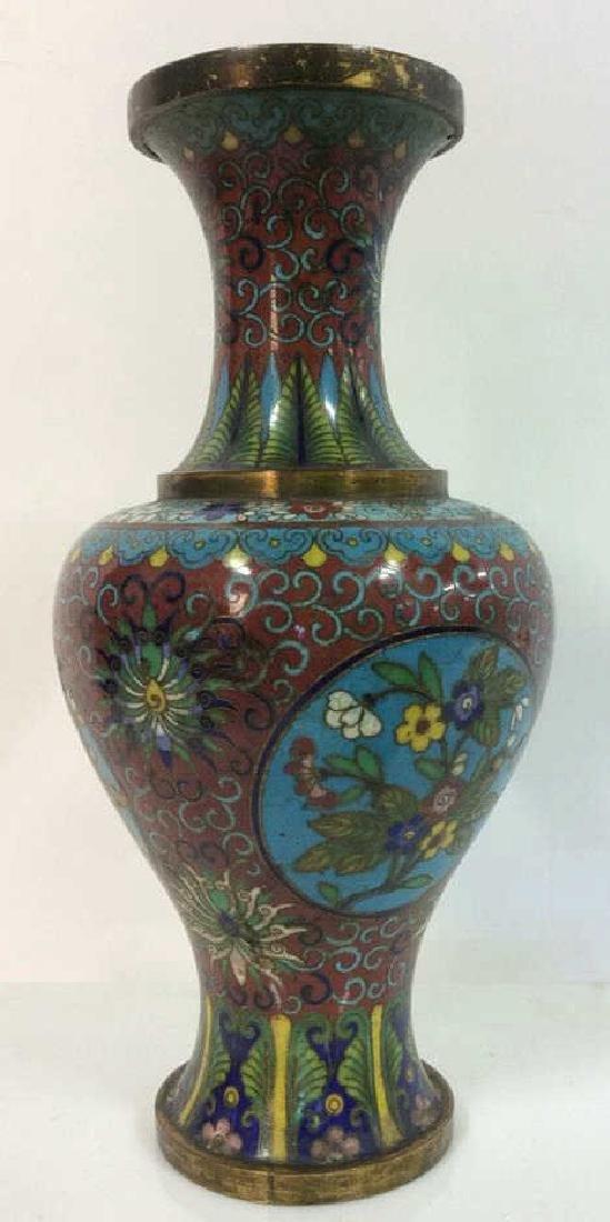 Antique Chinese Cloisonné Vase - 2