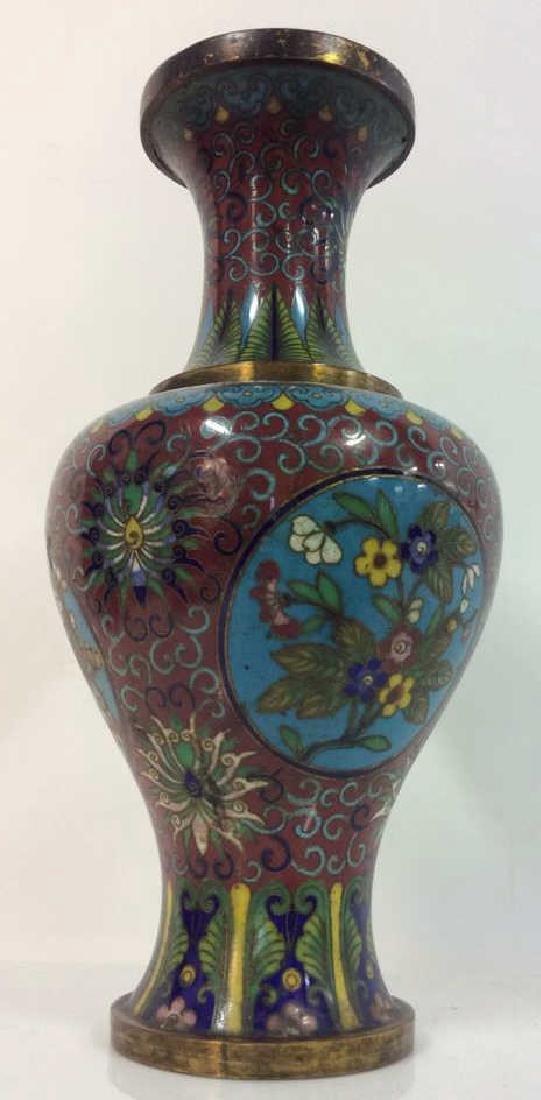 Antique Chinese Cloisonné Vase - 3