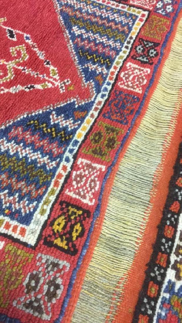 Handmade Moroccan Wool Runner Carpet - 10