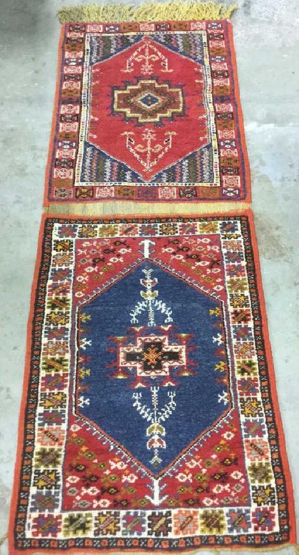 Handmade Moroccan Wool Runner Carpet