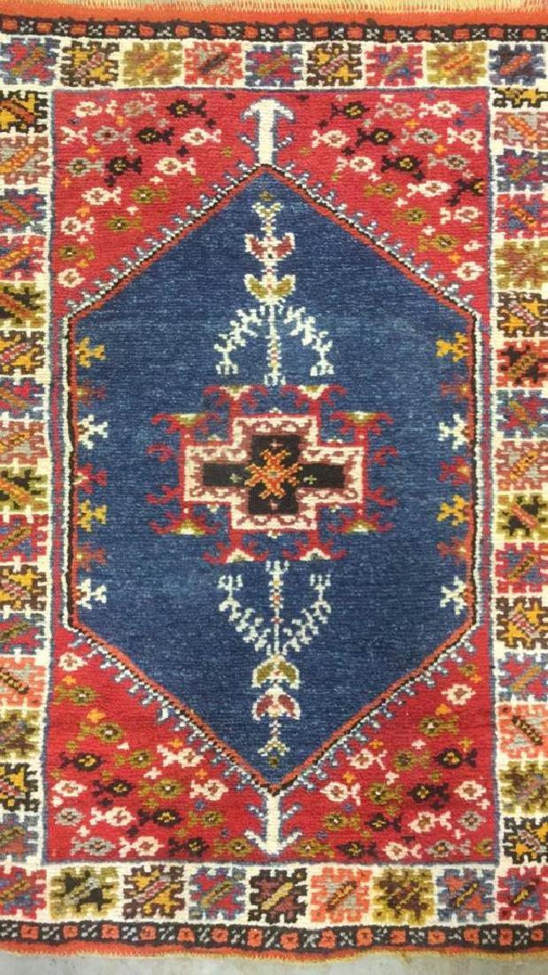 Handmade Moroccan Wool Runner Carpet - 2