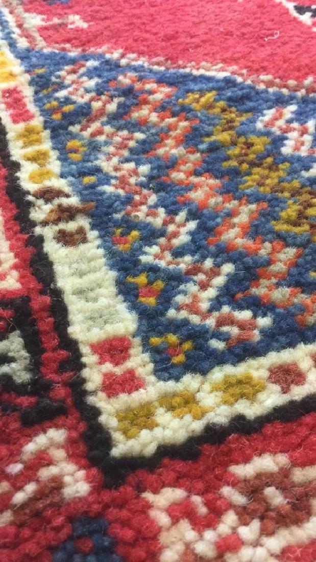 Handmade Moroccan Wool Runner Carpet - 6