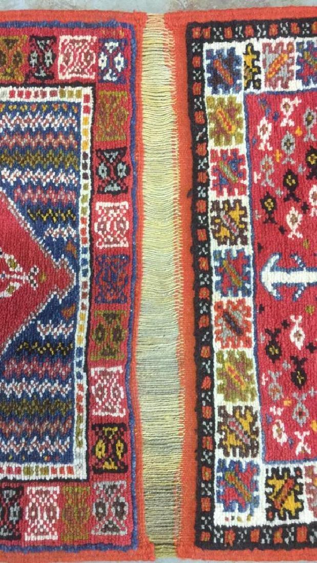 Handmade Moroccan Wool Runner Carpet - 7