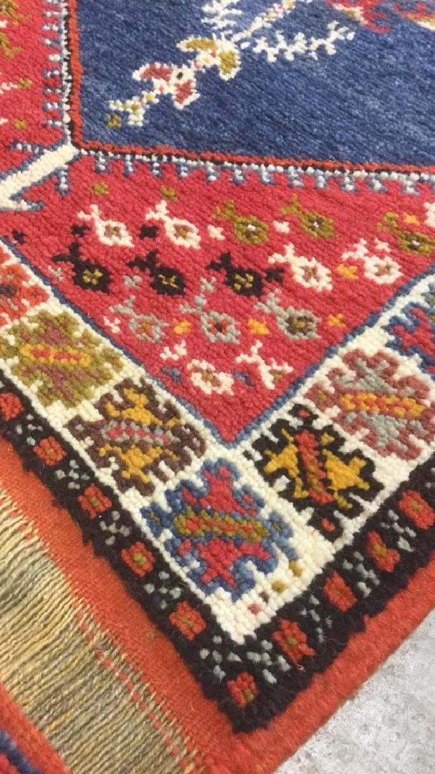 Handmade Moroccan Wool Runner Carpet - 9