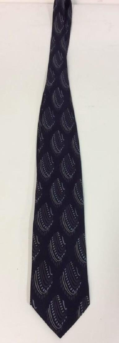 Lot 5 Assorted GEORGIO ARMANI Neck Ties - 2