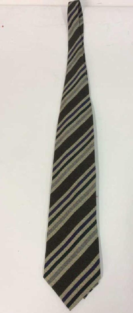Lot 5 Assorted GEORGIO ARMANI Neck Ties - 3