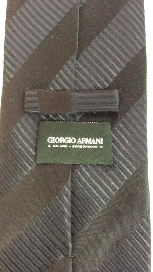 Lot 5 Assorted GEORGIO ARMANI Neck Ties - 7