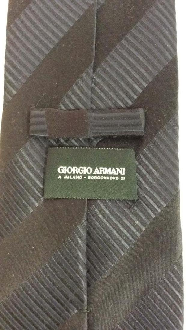 Lot 5 Assorted GEORGIO ARMANI Neck Ties - 7