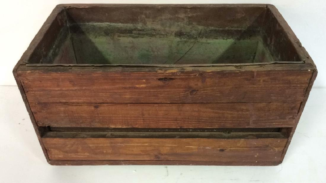 Antique Wooden Copper Toilet Tank upcycle Planter
