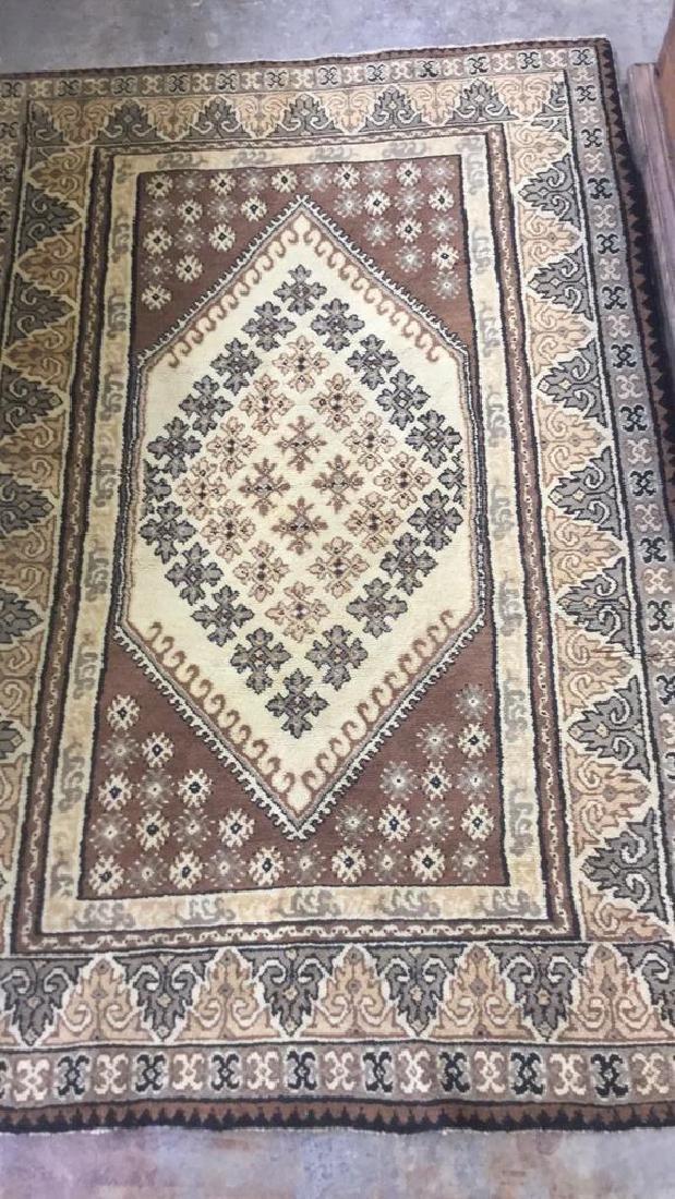 Handmade Moroccan Wool Area Rug