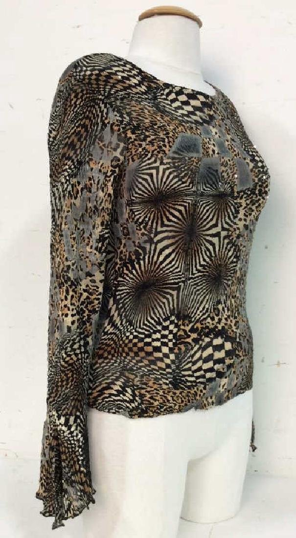 ALBERTO MAKALI Polyester Multicolor Shirt