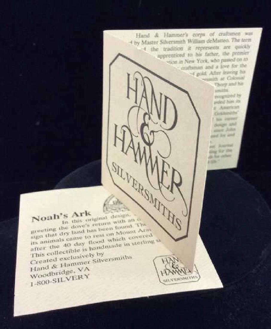 HAND&HAMMER SILVERSMITHS Noah's Ark Sterling Pin - 3