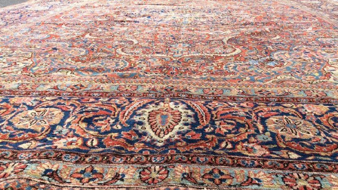 Vintage Handmade Wool Persian Rug - 10