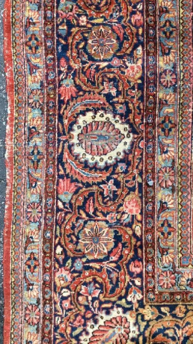 Vintage Handmade Wool Persian Rug - 2