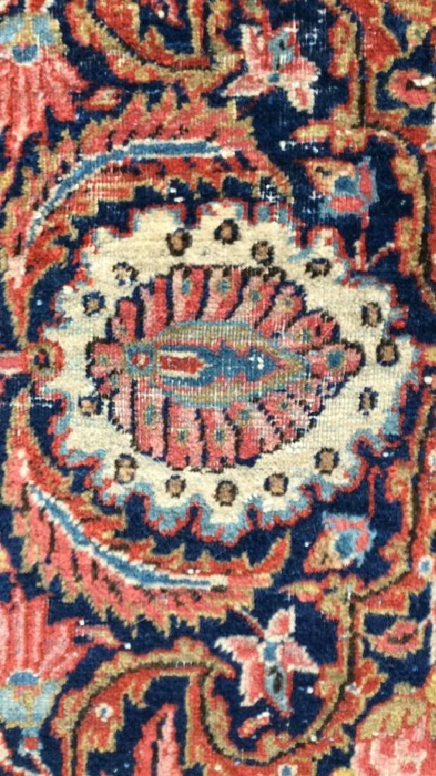 Vintage Handmade Wool Persian Rug - 3