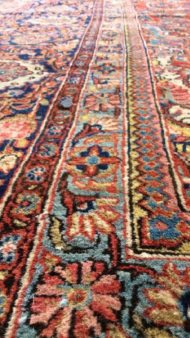 Vintage Handmade Wool Persian Rug - 4