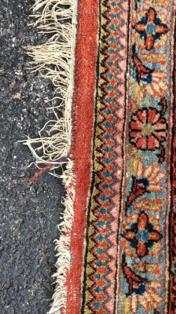 Vintage Handmade Wool Persian Rug - 5