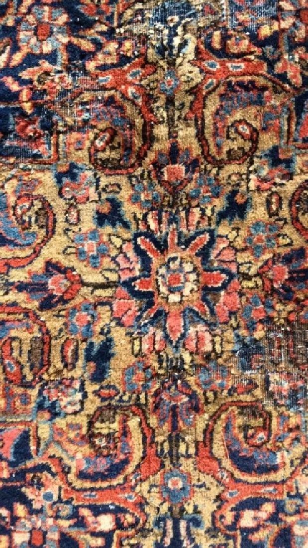 Vintage Handmade Wool Persian Rug - 7