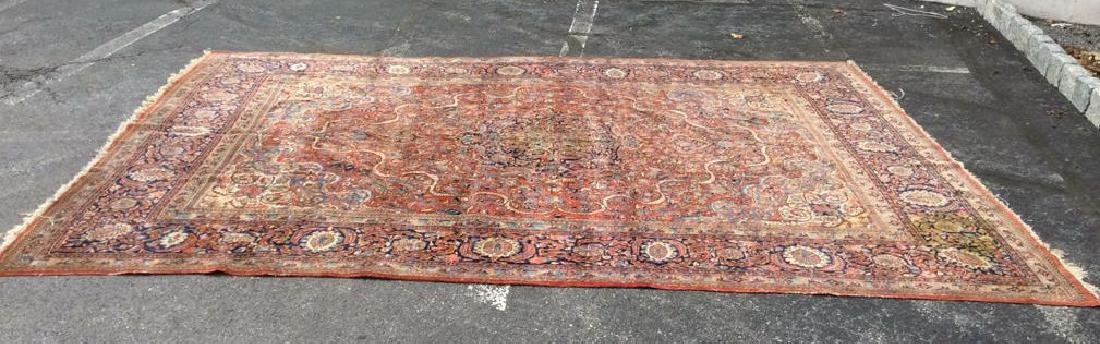 Vintage Handmade Wool Persian Rug - 8