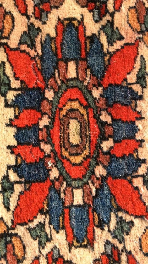 Antique Hand Made Persian Rug - 10