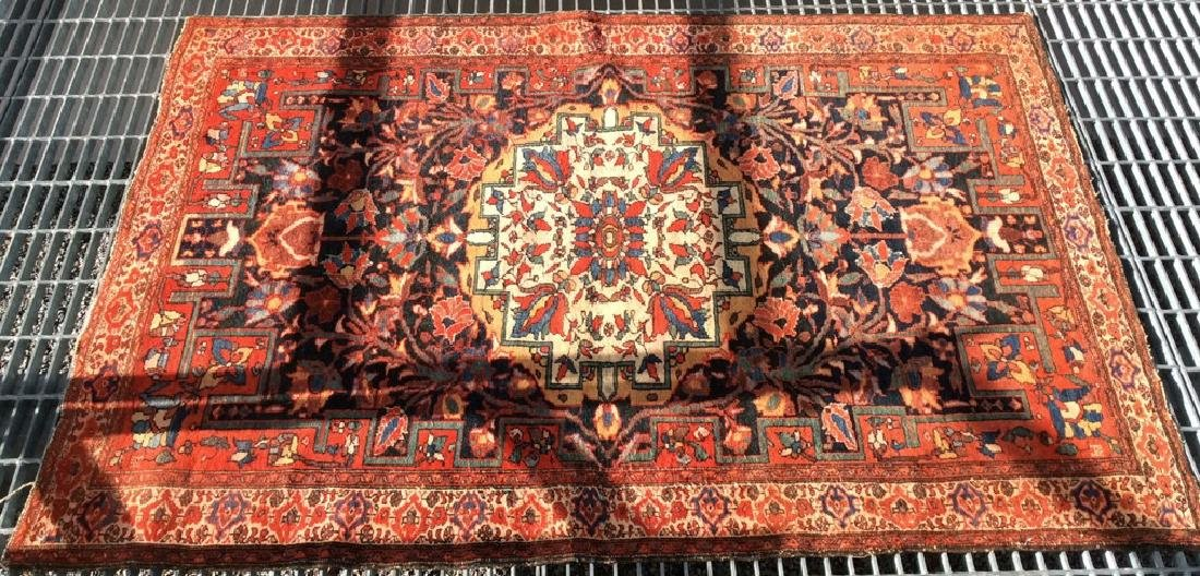 Antique Hand Made Persian Rug - 2