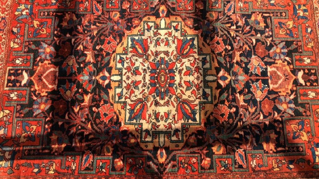 Antique Hand Made Persian Rug - 3