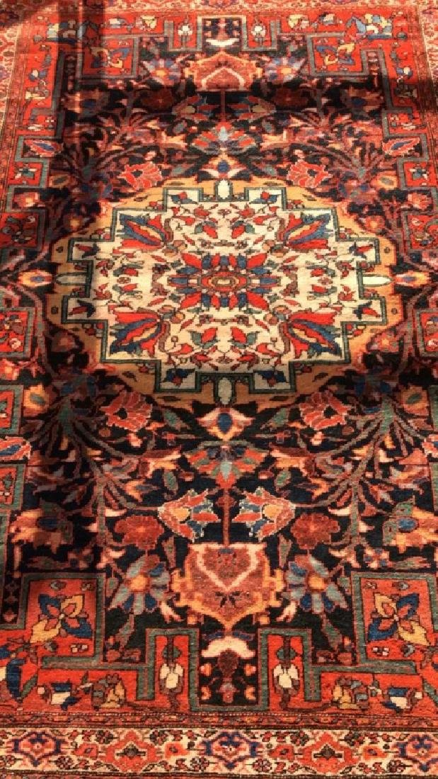 Antique Hand Made Persian Rug - 4