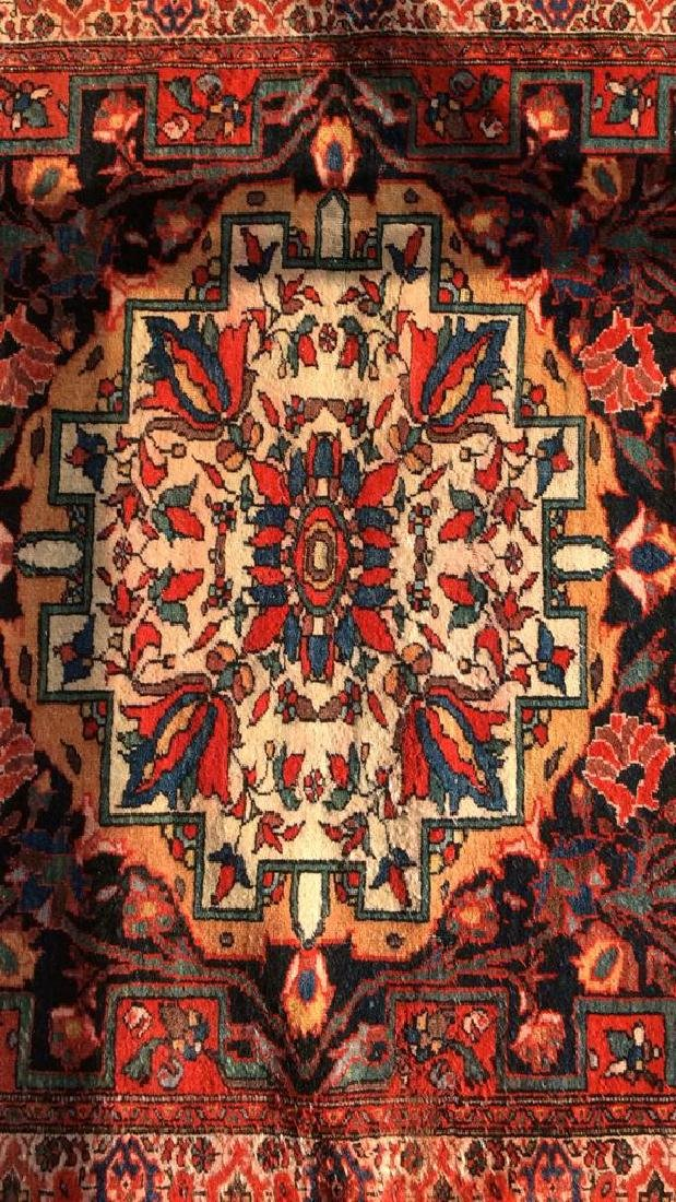 Antique Hand Made Persian Rug - 5