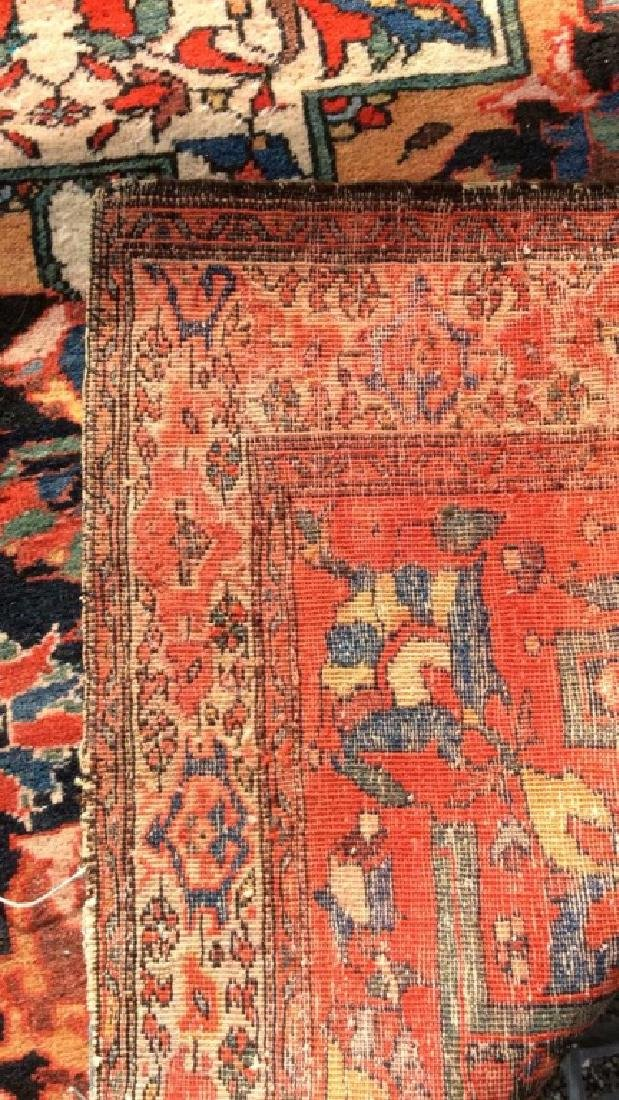Antique Hand Made Persian Rug - 8