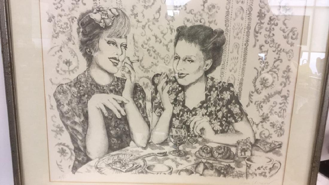Signed Lithograph By Ann Chernow 2/50