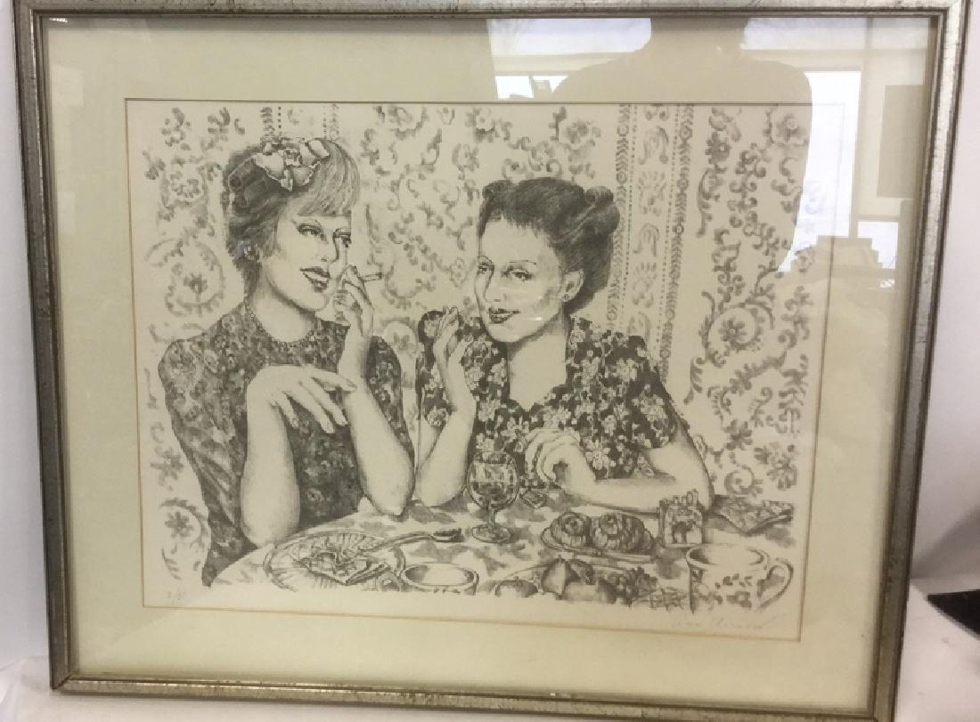 Signed Lithograph By Ann Chernow 2/50 - 4