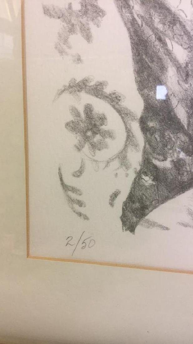 Signed Lithograph By Ann Chernow 2/50 - 6