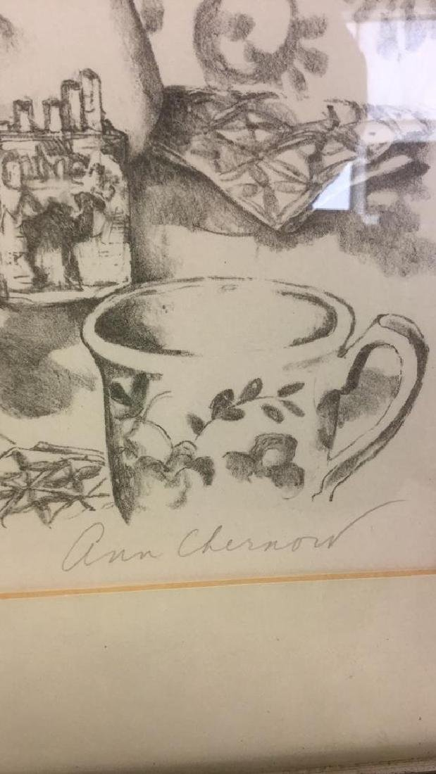 Signed Lithograph By Ann Chernow 2/50 - 8