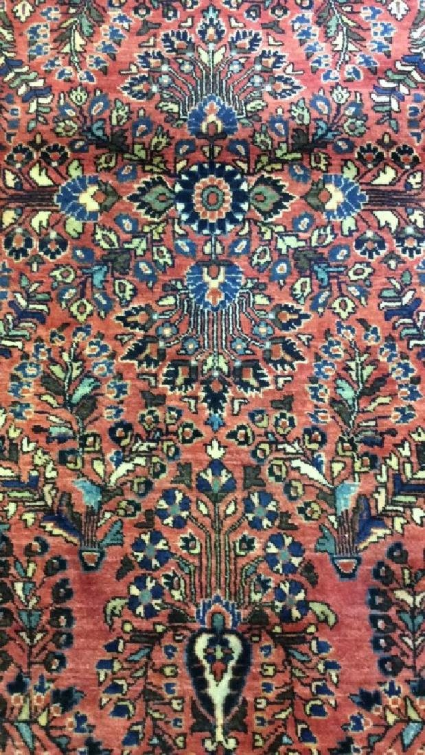 Antique Handmade Wool Rug Carpet - 10