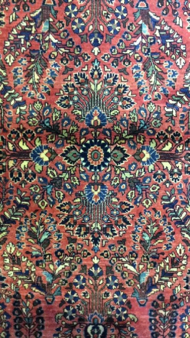 Antique Handmade Wool Rug Carpet - 3