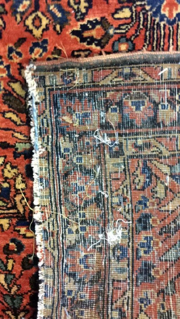 Antique Handmade Wool Rug Carpet - 4