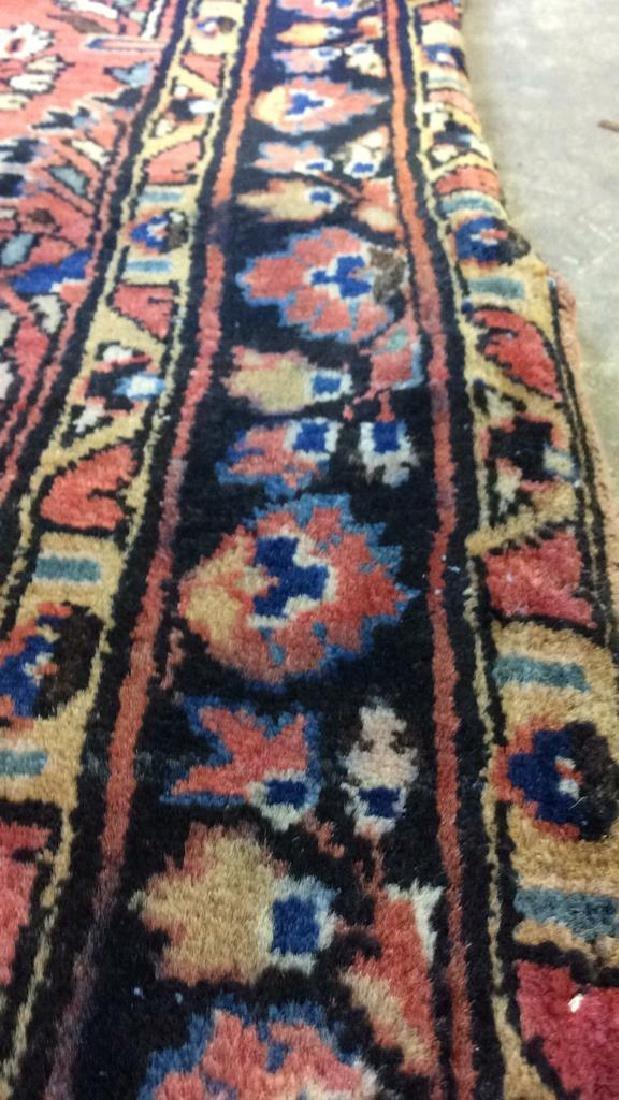 Antique Handmade Wool Rug Carpet - 8