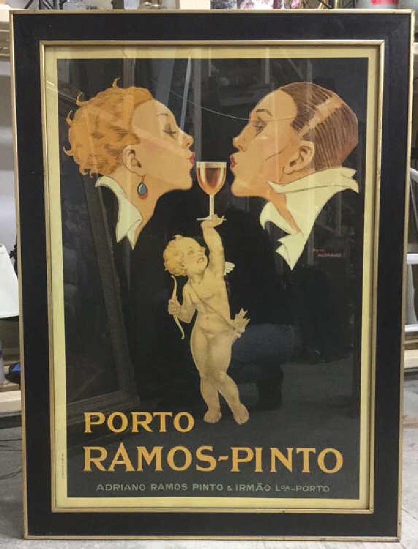 Porto Ramos Pinto Vintage Advertising Poster