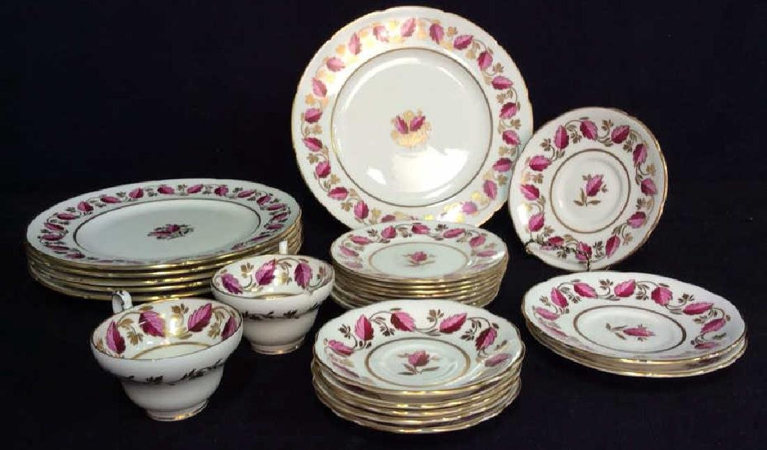 Set 24 EB Foley 1850 Bone China England
