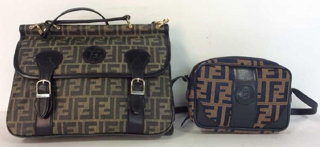 Lot 2 FENDI Handbags Purses